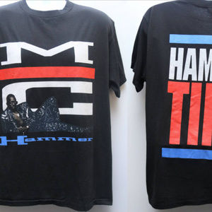 "Other - 1990 Vintage ""MC HAMMER-Hammer Time"" Rap Tee"